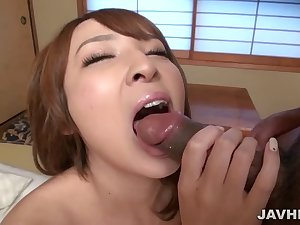 Pretty Asian mom Hikaru creampied by not her son