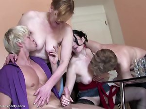 MOM mom and mom have wild fuck with not their son