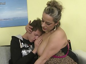 Son mom porn granny sex and