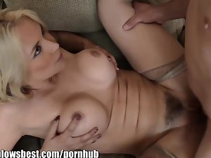 MommyBB Milf Sarah Vandella chasing her stepson for sex