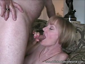 Amateur Mom Teaches Son How To Fuck