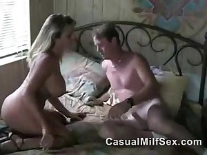 Hot Stepmom from CasualMilfSex(dot)com cheating with Son's best friend