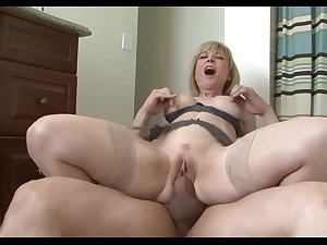 horny mom seduces sons friend