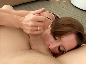 HOTTEST MILF EVER Veronica Avluv Energetic Blowjob and Cum..