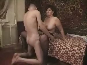 Mature Mom Son's friend Sex 03