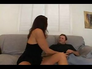 Mommy Sucking &amp_ Fucking Her Son Hot - more at slutrooms.com