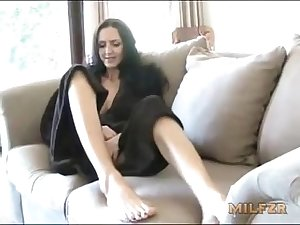 Danielle Rider - Dad nearly catches mom giving son handjob (RolePlay)
