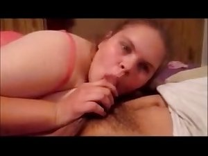 Mom Give Son Sloppy Blowjob And Swallow Mouth Full Of Cum