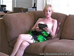 Amateur MOM Drains Her Son&#039_s Balls