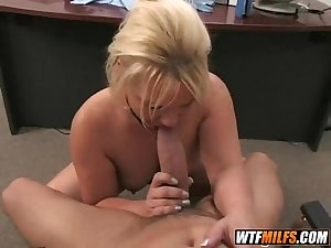 blonde milf loves the taste of cock 1 003