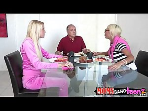 Mommy fucks daughter and boyfriend Puma Swede, Vanessa Cage  71