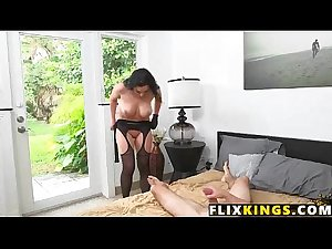 Mom fucks in lingerie 94