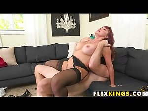 Mature redhead mom fucked silly 94