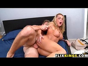 Blonde mommy loves cock 97