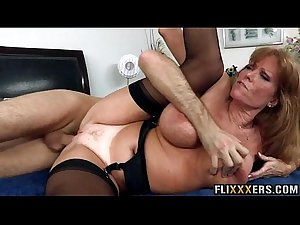 Mom in lingerie  fuck Darla Crane 94