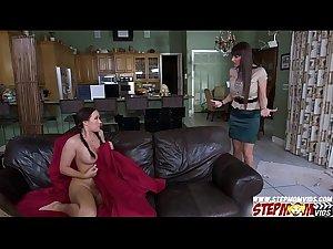 Stepmom Eva Karera teaches how to fuck