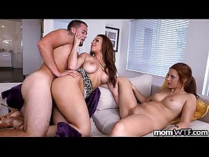 Mom fucks son and daughter  Kylie Rogue and Sasha Summers 2.1 18